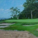 "Eastward Ho C.C. 15th 6"" x 9"""